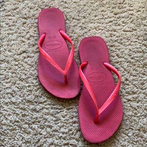 Pink Havaianas